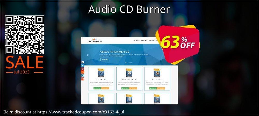 Get 60% OFF Audio CD Burner offering sales