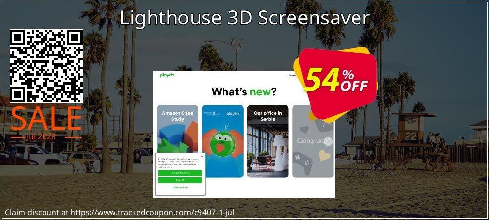 Get 50% OFF Lighthouse 3D Screensaver promo