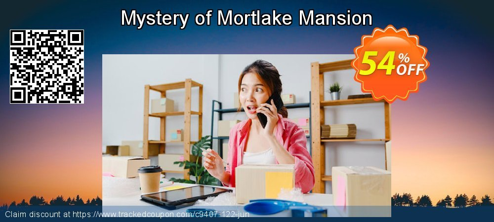 Get 50% OFF Mystery of Mortlake Mansion discount
