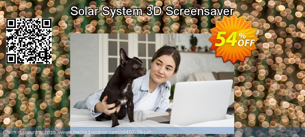 Get 50% OFF Solar System 3D Screensaver offering sales