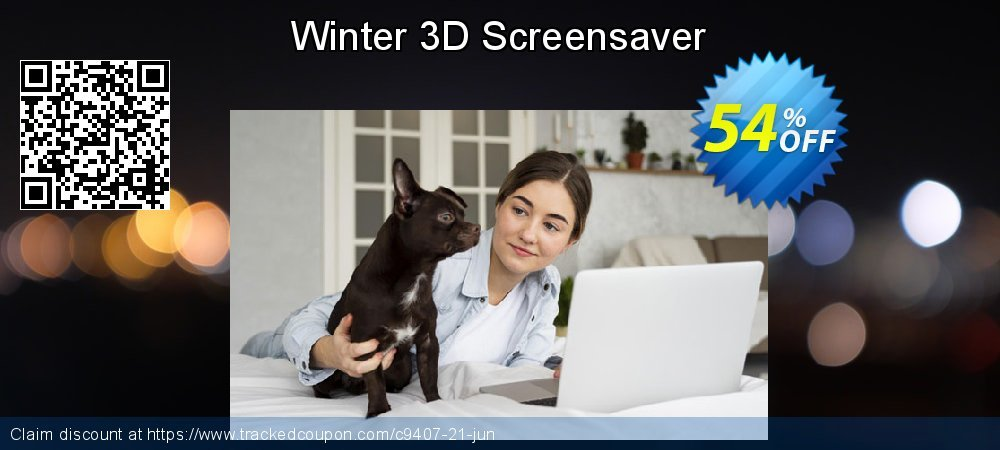 Get 50% OFF Winter 3D Screensaver offering sales