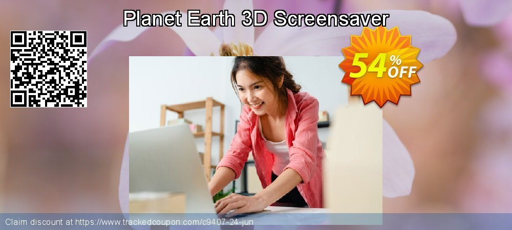 Get 50% OFF Planet Earth 3D Screensaver promotions