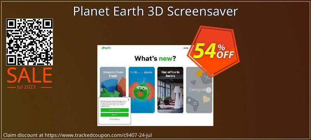 Get 50% OFF Planet Earth 3D Screensaver sales
