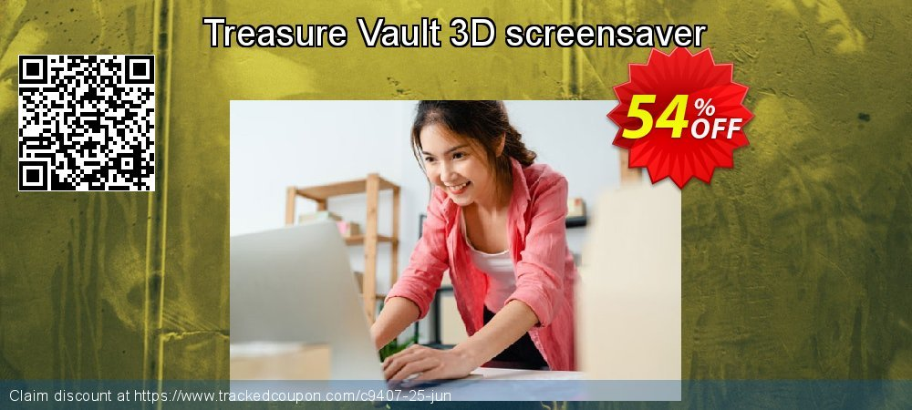 Get 50% OFF Treasure Vault 3D screensaver offer