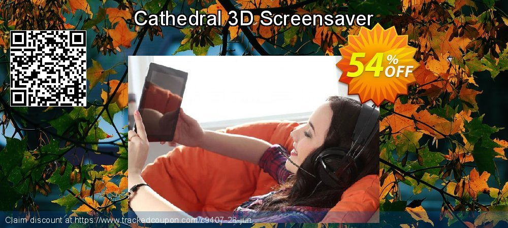 Get 50% OFF Cathedral 3D Screensaver promo sales
