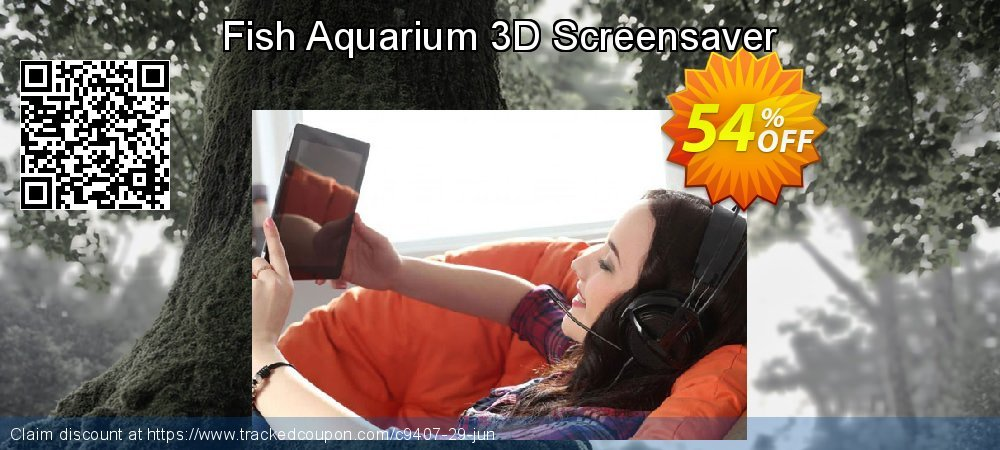 Get 50% OFF Fish Aquarium 3D Screensaver promo sales