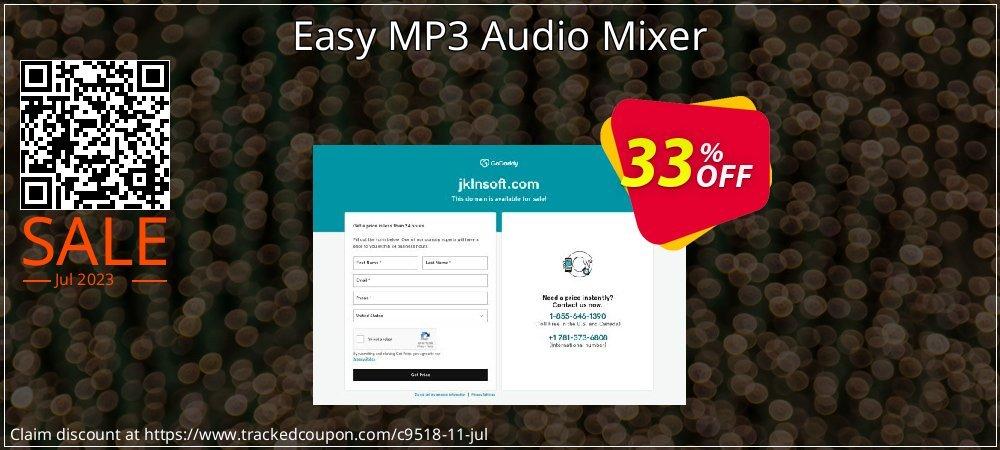 Get 30% OFF Easy MP3 Audio Mixer offering sales