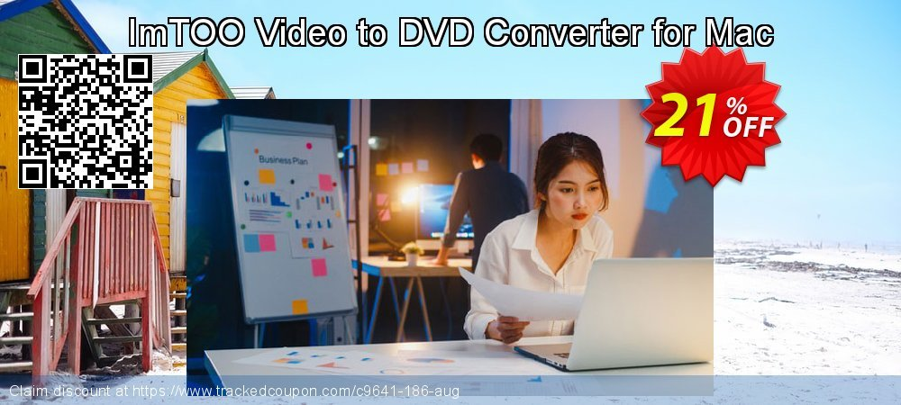 Get 20% OFF ImTOO Video to DVD Converter for Mac deals