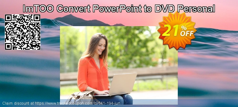 Get 20% OFF ImTOO Convert PowerPoint to DVD Personal offering sales