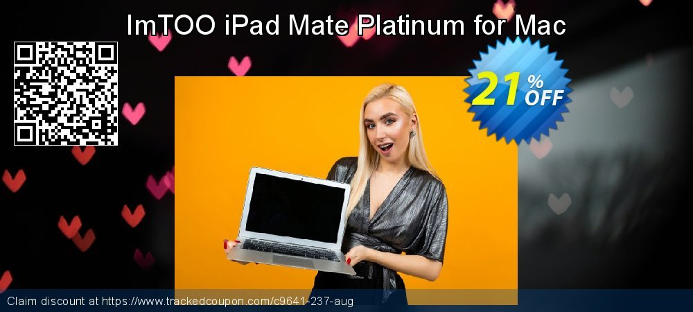 Get 20% OFF ImTOO iPad Mate Platinum for Mac discounts
