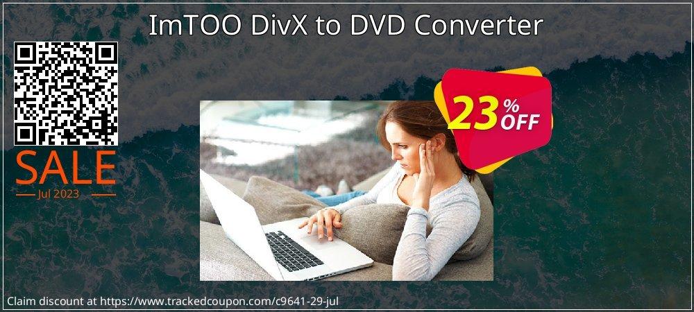 Get 20% OFF ImTOO DivX to DVD Converter promotions