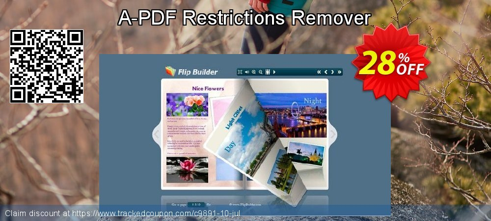 A-PDF Restrictions Remover coupon on Summer offering sales