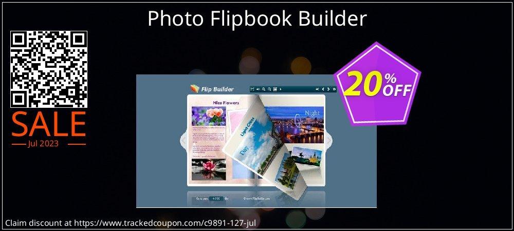Get 20% OFF Photo Flipbook Builder offering sales