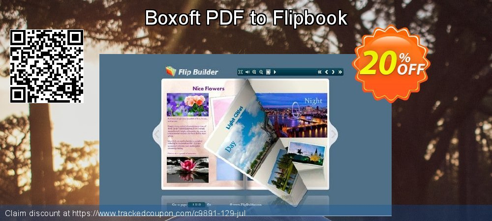 Get 20% OFF Boxoft PDF to Flipbook offering discount