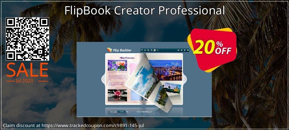 Get 20% OFF FlipBook Creator Professional offering sales