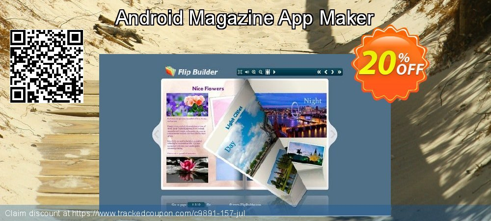 Android Magazine App Maker coupon on Summer sales