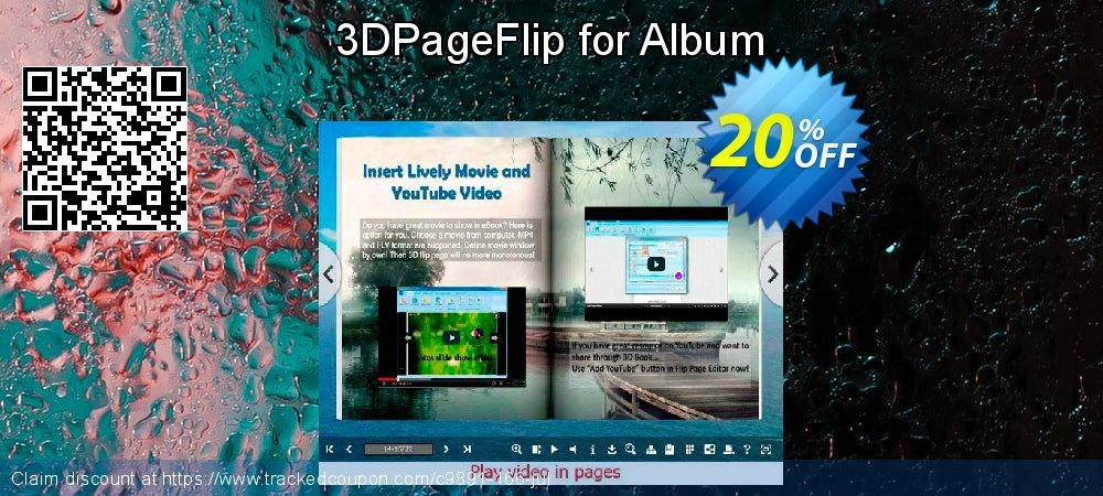 3DPageFlip for Album coupon on University Student deals offer