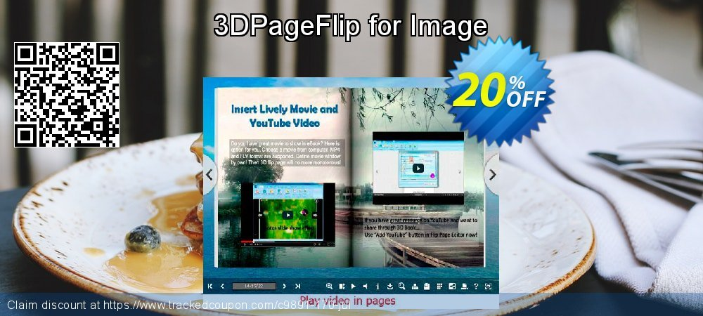 3DPageFlip for Image coupon on July 4th offering discount