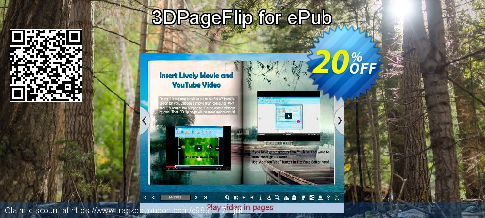 3DPageFlip for ePub coupon on Black Friday sales