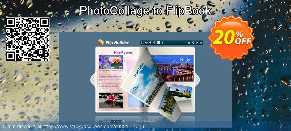 Get 20% OFF PhotoCollage to FlipBook offering sales