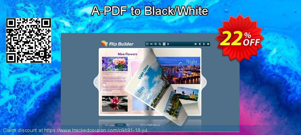 Get 20% OFF A-PDF to Black/White offer