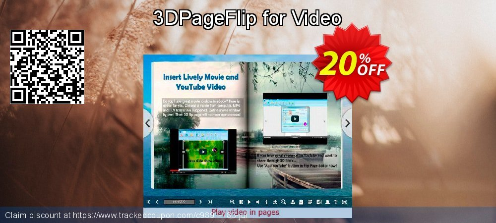 3DPageFlip for Video coupon on University Student deals deals