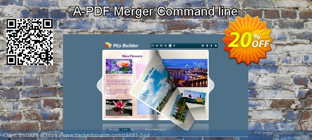 Get 20% OFF A-PDF Merger Command line sales