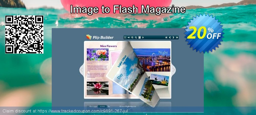 Get 20% OFF Image to Flash Magazine offering sales