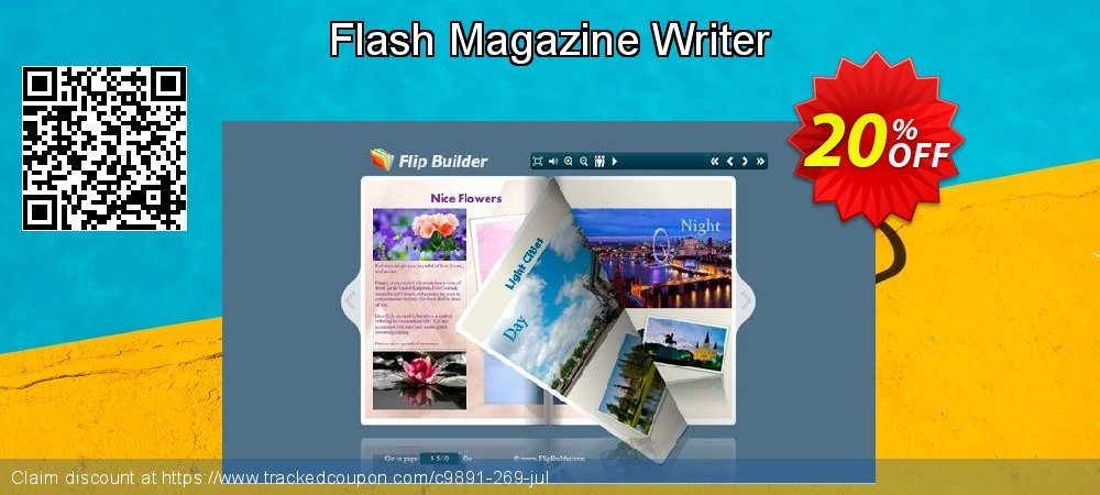 Flash Magazine Writer coupon on New Year's Day discounts