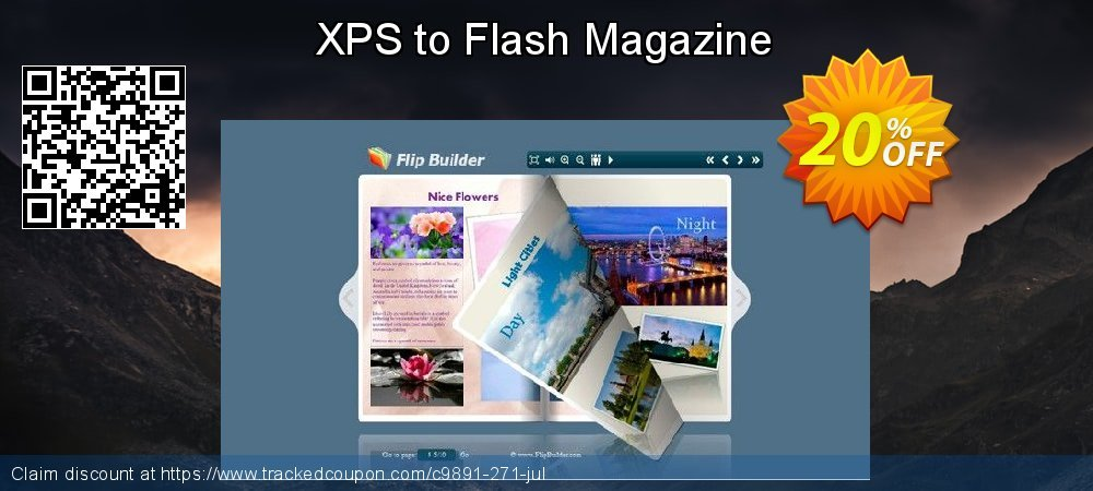 Get 20% OFF XPS to Flash Magazine offering sales