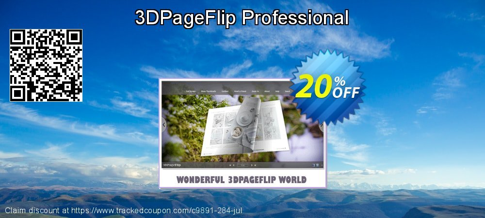 3D PageFlip Professional coupon on University Student offer discount