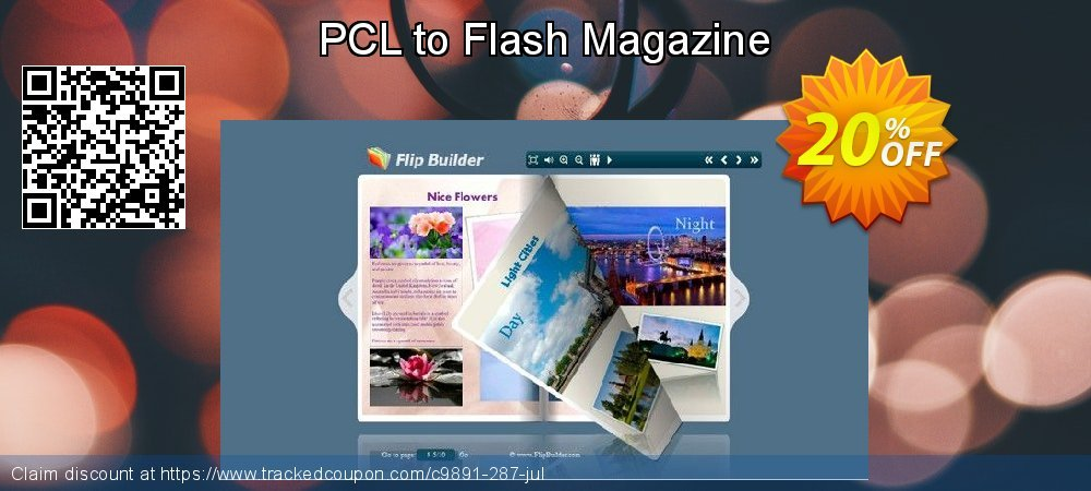 Get 20% OFF PCL to Flash Magazine offering sales