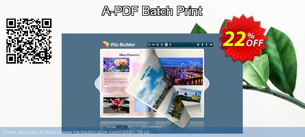 A-PDF Batch Print coupon on Summer discounts