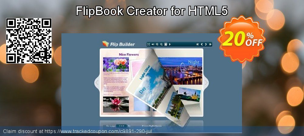 FlipBook Creator for HTML5 coupon on Back to School promo promotions