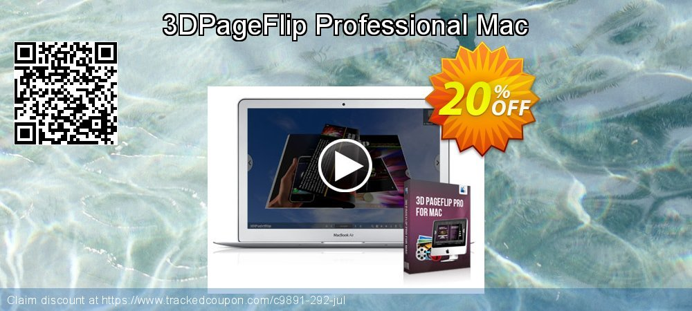 3D PageFlip Professional Mac coupon on Christmas Day offering sales