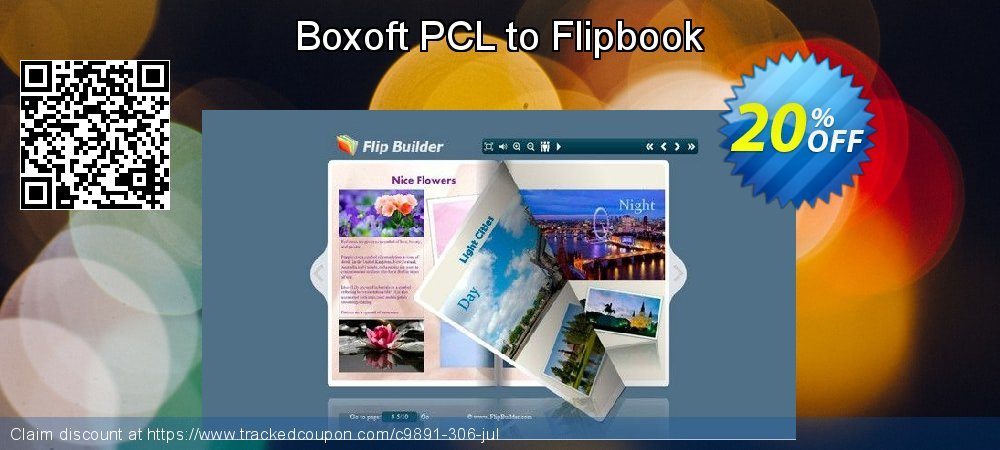 Get 20% OFF Boxoft PCL to Flipbook promo sales