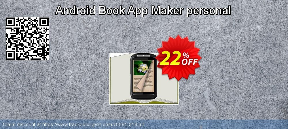 Get 20% OFF Android book app maker personal offering sales
