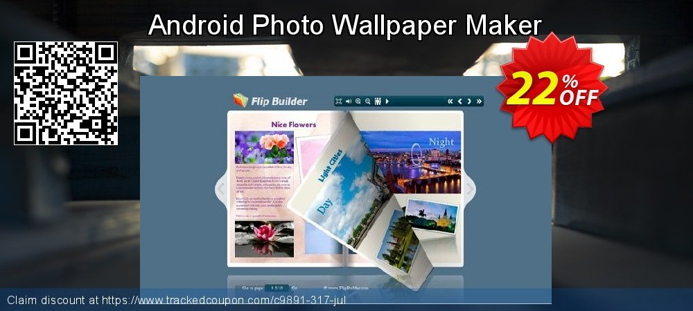 Get 20% OFF Android Photo Wallpaper Maker sales