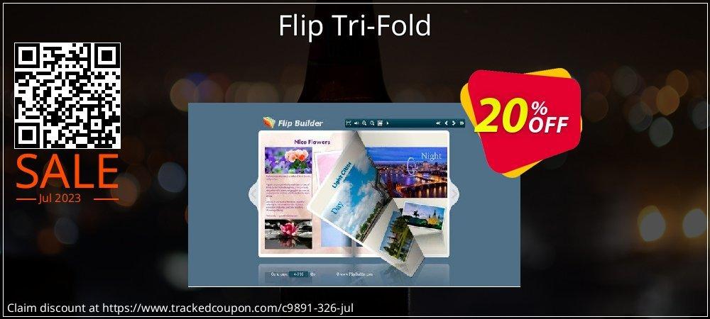 Get 20% OFF Flip Tri-Fold promo
