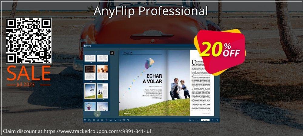 Get 20% OFF AnyFlip Professional promo sales