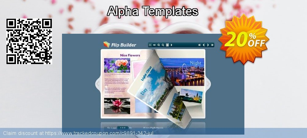 Alpha Templates coupon on Xmas deals