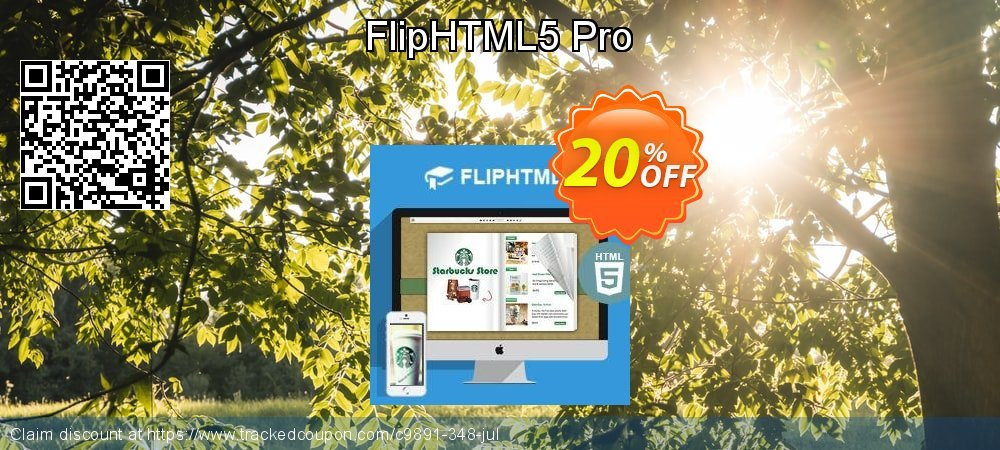 Get 20% OFF FlipHTML5 Pro offering sales