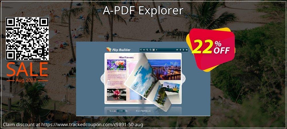 Get 20% OFF A-PDF Explorer offering sales