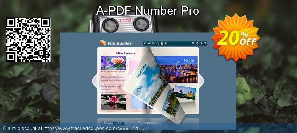 Get 20% OFF A-PDF Number Pro promotions