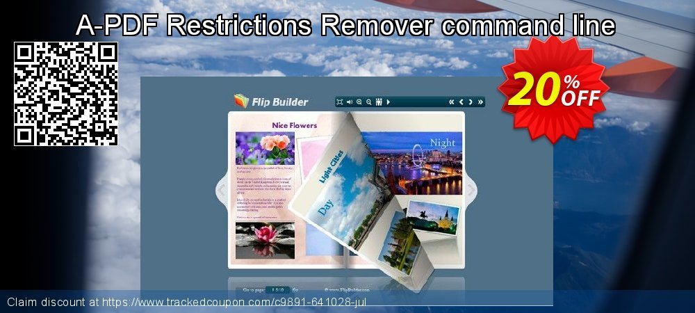 Get 20% OFF A-PDF Restrictions Remover command line offering sales