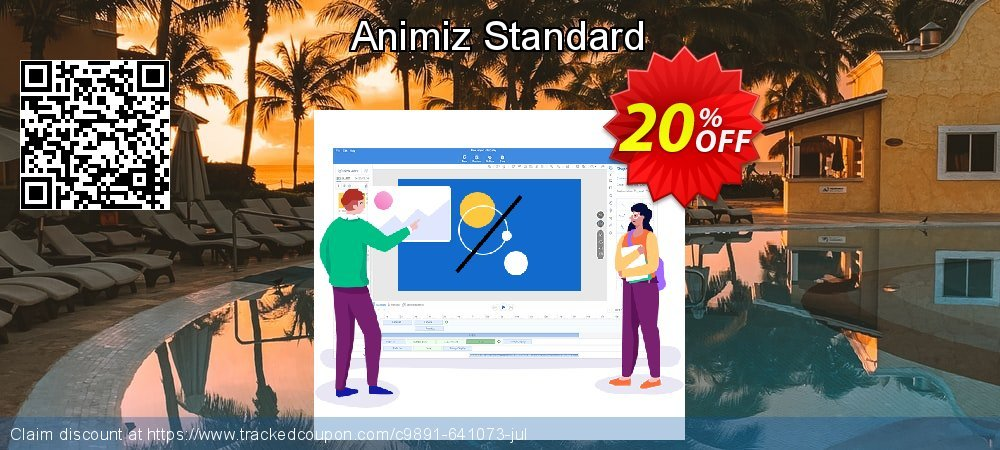 Animiz standard coupon on Back-to-School event deals