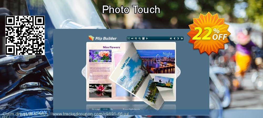 Get 20% OFF Photo Touch offering sales