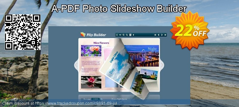 A-PDF Photo Slideshow Builder coupon on Valentine's Day sales