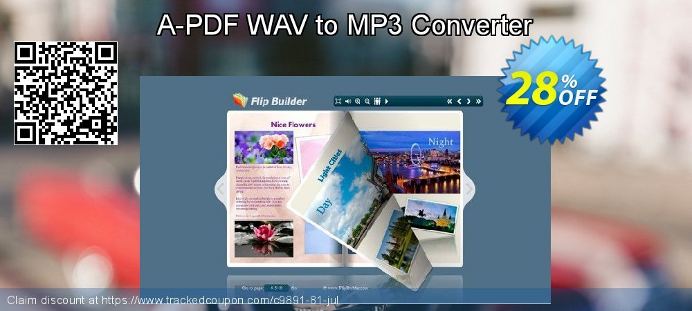 Get 20% OFF A-PDF WAV to MP3 Converter promo sales