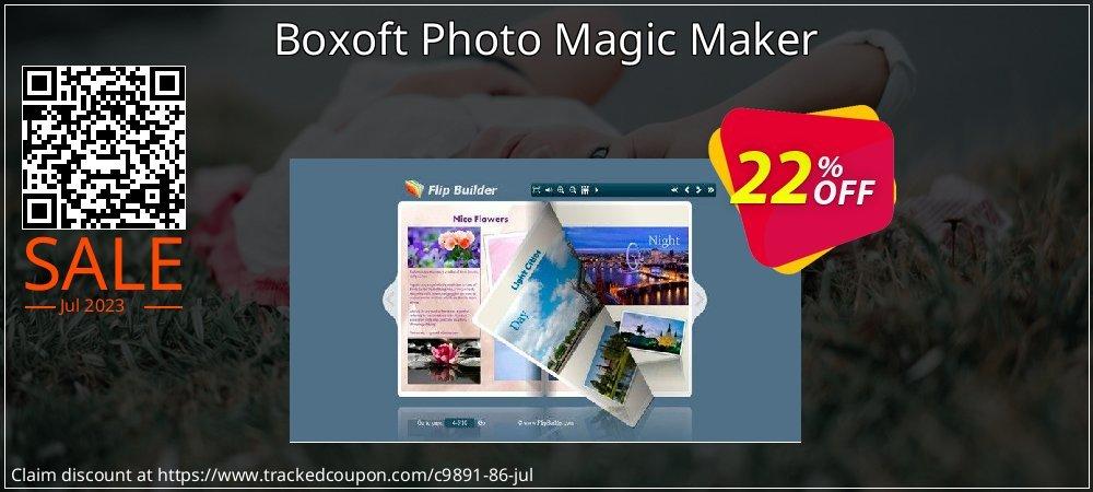 Get 20% OFF Boxoft Photo Magic Maker offering sales